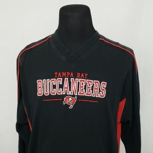 Vtg Tampa Bay Buccaneers Long Sleeve Spellout